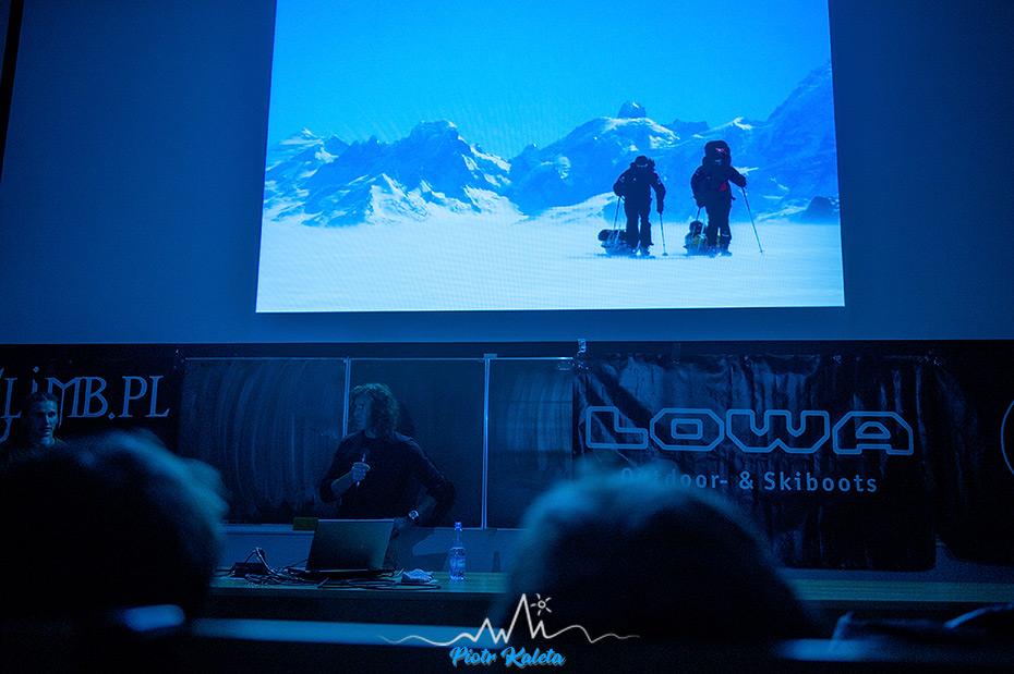 Stefan Glowacz, Marmot, Tour Poland, Wrocław, Eiger