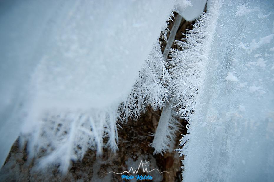 Oldřichovský lom, lodospady, wspinanie