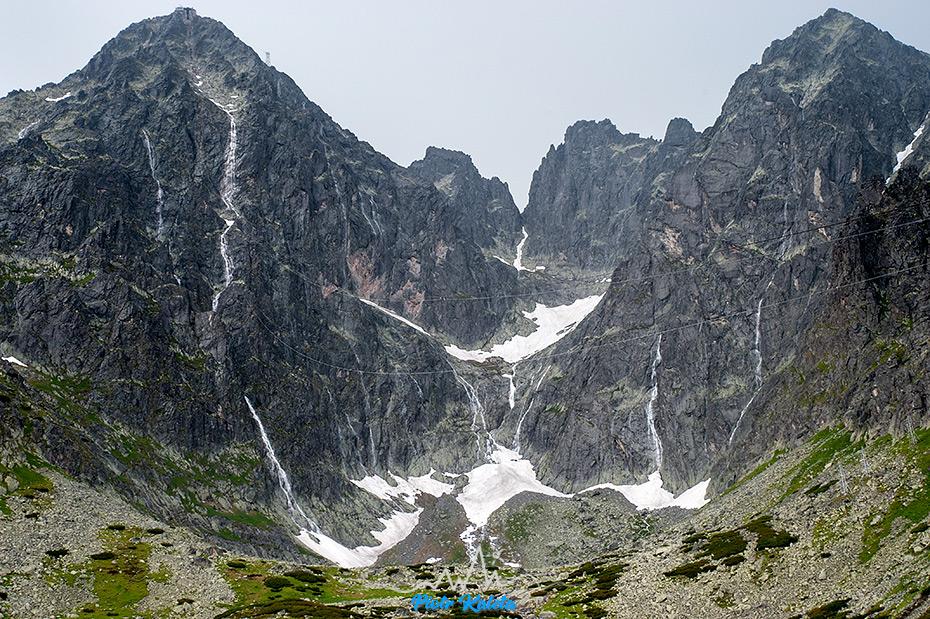 Tatry, Łomnica, Kieżmarski, Wodospady
