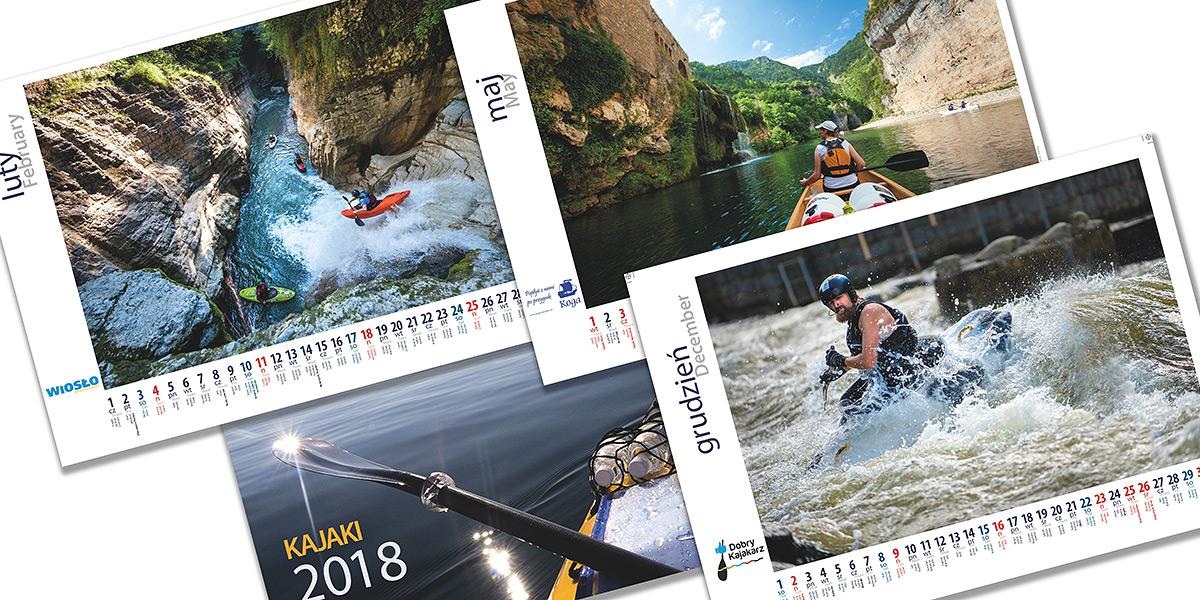 Wiosło Kalendarz 2018